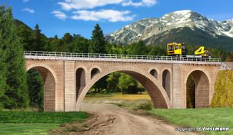KIBRI 39720  Hölltobel-viaduct, single track (HO)