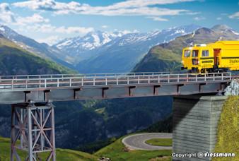 KIBRI 39705 Steel girder bridge straight, single track (HO)