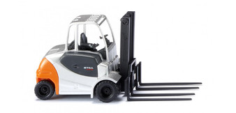 WIKING 066361 Forklift truck Still RX 60 with four forks (HO)