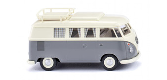 WIKING 079724 VW T1 Camping bus pearl white/ grey (HO)