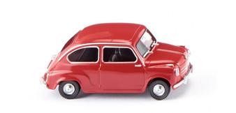 WIKING 009904 Fiat 600 - red (HO)