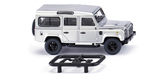 WIKING 010203 Land Rover Defender 110 - silver-metallic (HO)