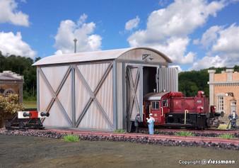 Vollmer 45761 Loco shed for Köf, single track (HO)