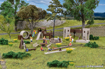 Vollmer 43668 Deco set Adventure playground (HO)