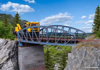 Vollmer 42540 Steel arched bridge, curved (HO)