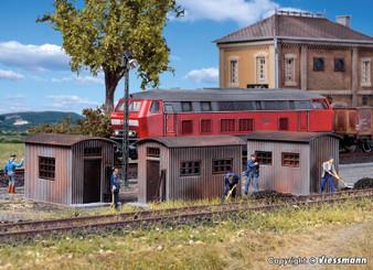 Vollmer 45743 Quonset hut, 3 pieces (HO)