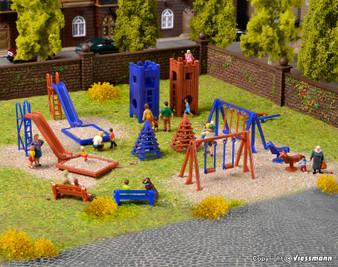 Vollmer 43665 Deco set Playground (HO)