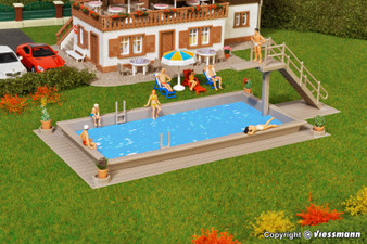 VOLLMER 43809 Pool (HO)