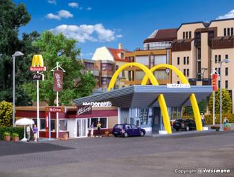 VOLLMER 43635 McDonald`s fast food restaurant with McCafé(HO)