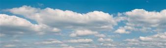 VOLLMER 46112 Background setting clouds, three-part, L 266 x W 48 cm (HO)