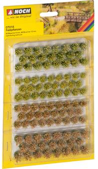 "NOCH 07016 Grass Tufts ""Field Plants"" (HO) 52 PIECES"