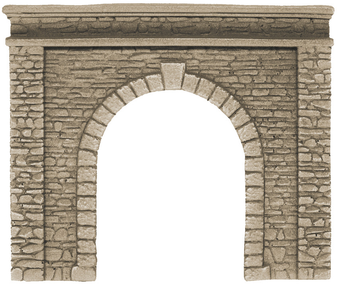 58061 Tunnel Portal single track (HO) 15 x 12,5 CM