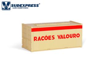 SUDEXPRESS S6002 20FT VALOURO CONTAINER (DC HO)