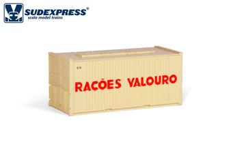 SUDEXPRESS S6004 20FT VALOURO CONTAINER (DC HO)