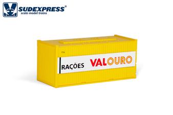 SUDEXPRESS S6006 20FT VALOURO CONTAINER (DC HO)