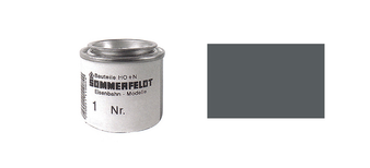 SOMMERFELDT 084 INK BASALT GREY RAL 7012 FOR CONTACT WIRE (HO) 50GR