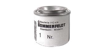 SOMMERFELDT 086 INK CONCRETE GREY RAL 7023 FOR MASTS (HO) 50GR
