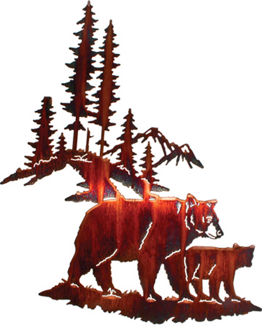 Bear Wall Art,Wall Hangings of Bear