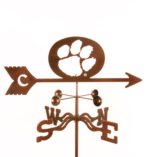 Clemson Tigers College Team Logo Weathervane