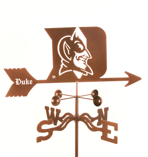 Duke Blue Devils College Team Logo Weathervane