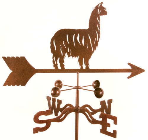 Weather Vane of Alpaca, Llama weathervane