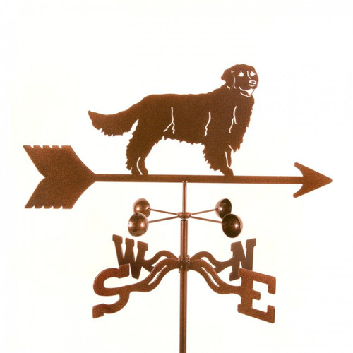 Golden Retriever weathervane