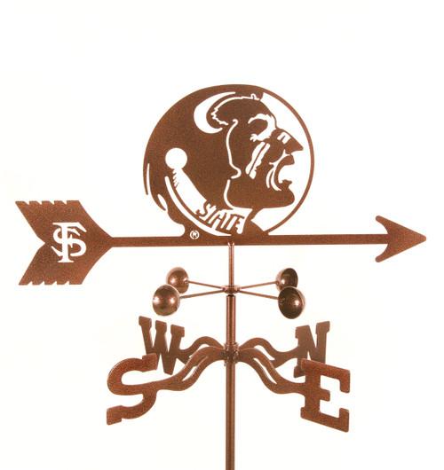 Florida-State Seminoles College Team Logo Weathervane