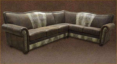 Country Western Style Sectional