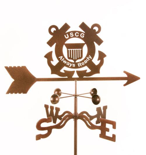 weathervane-of-coast-guard-emblem