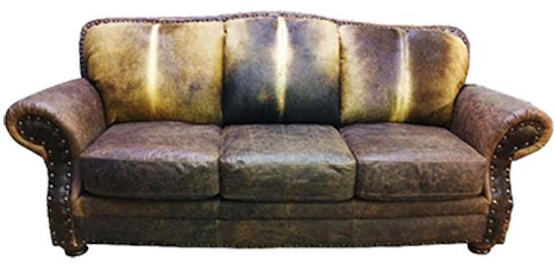 Cowhide Western Sofa, Country Western Couch