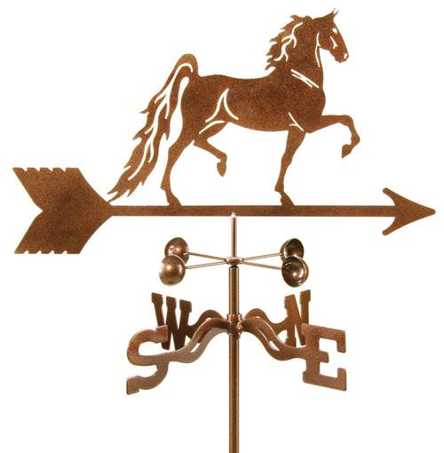 Weathervane of Saddlebred Horse