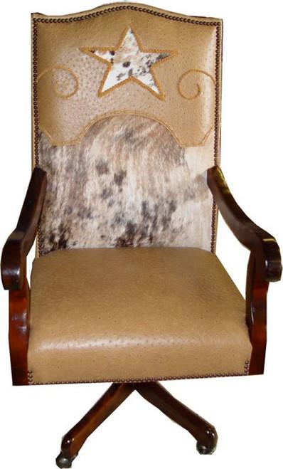 Texas Star Country Western Executive Swivel Desk Chair