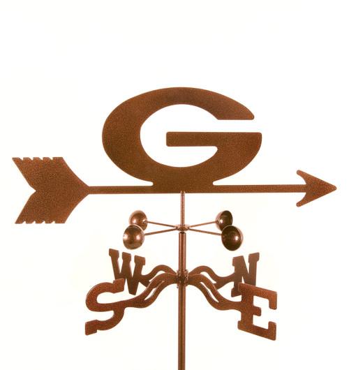 Georgia Bulldogs College Team Logo Weathervane