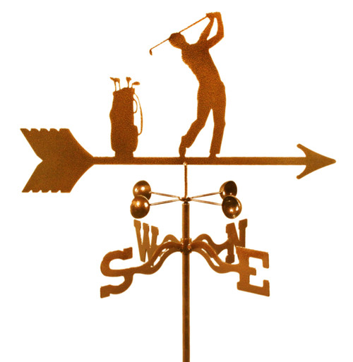 weather-vane-of-golfer-golfing-golf