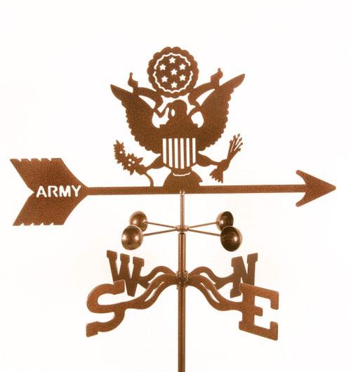 weathervane-of-army-emblem