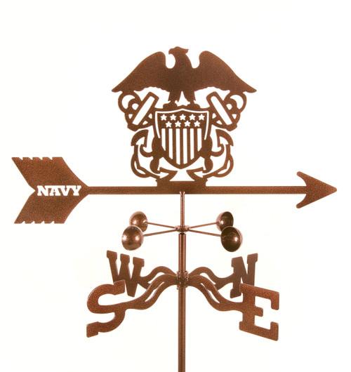 weathervane-of-navy-emblem