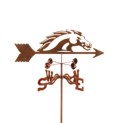 Boise State Bronco Team Logo Weathervane