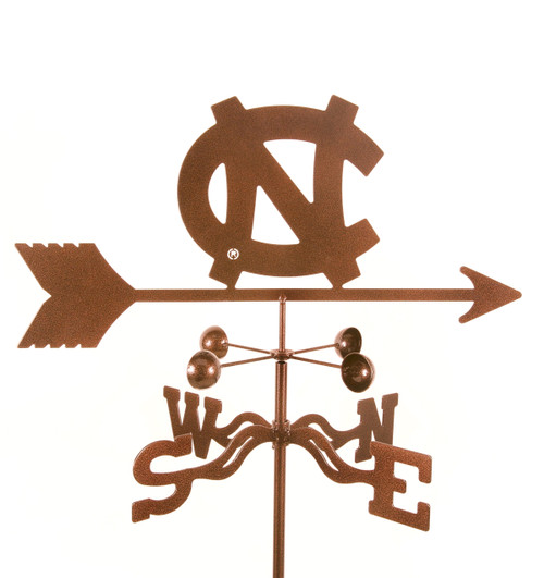 North Carolina Tar Heels College Team Logo Weathervane