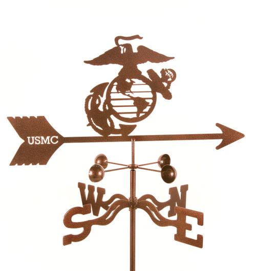 weathervane-with-marine-emblem