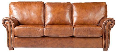 genuine-leather-traditional-style-sofa-couch