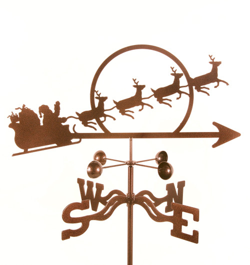 christmas-santa-s-sleigh-weather-vane