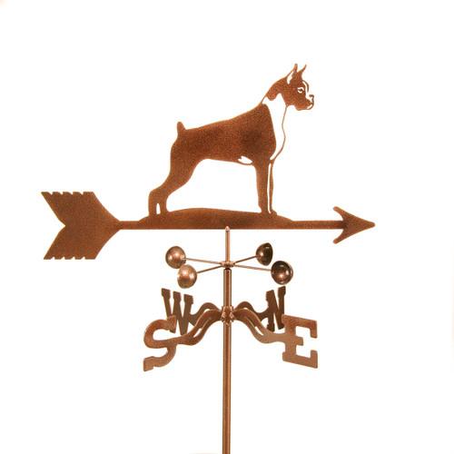 Boxer dog weathervane
