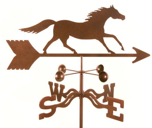 Weathervane of Running Horse