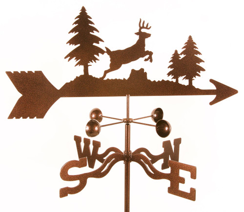 Weathervane of Deer Jumping