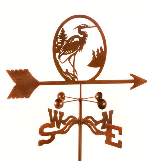 Weather Vanes with Heron Bird