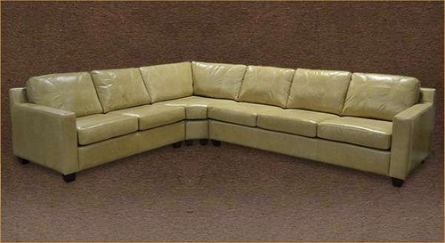 Transitional 7 seater Sectional - 2 full sofas plus corner