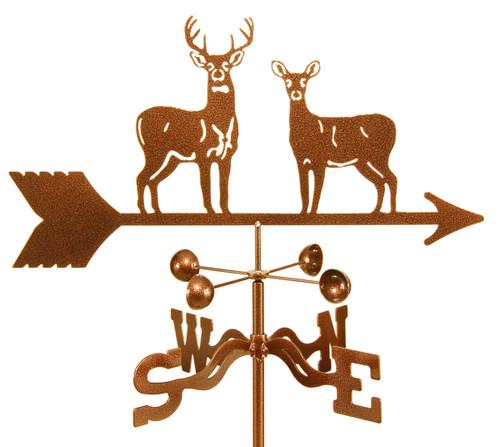 Weathervane with deer