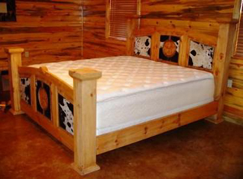 Mansion Star Country Western Style Bed