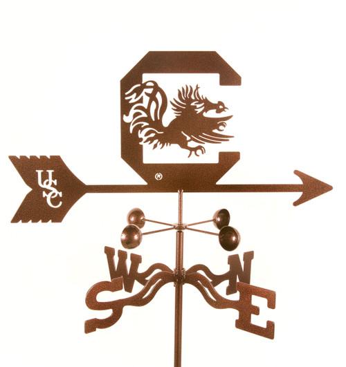 South Carolina Gamecocks College Team Logo Weathervane