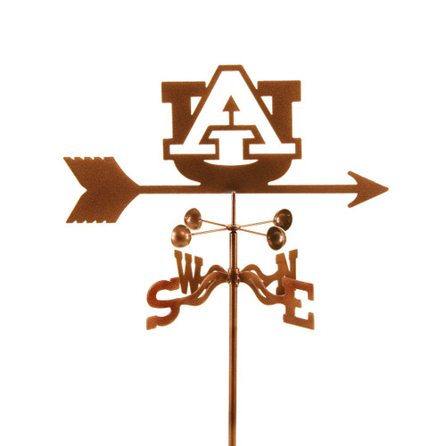 Auburn Tigers College Team Logo Weathervane